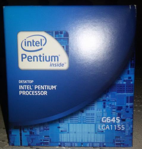 Procesador Intel Pentium G645 Lga1155
