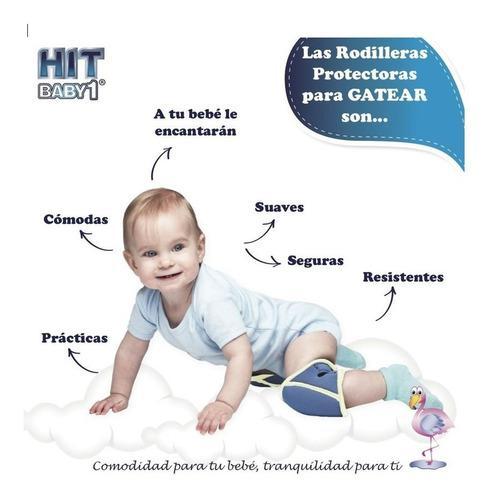 Rodilleras Protectores Para Gatear Hit Baby Gateo Bebes