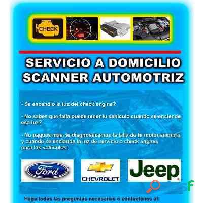 Servicio de Scanner Automotriz a domicilio en maracay