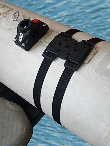 Brocraft Tubo Flotacion Ponton Barco Soporte Para Caña