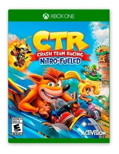 Crash Team Racing Juego Para Xbox One Totalmente Original