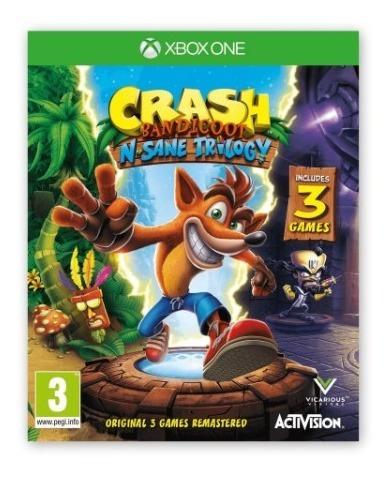 Crash Trilogy Juego Para Xbox One Totalmente Original