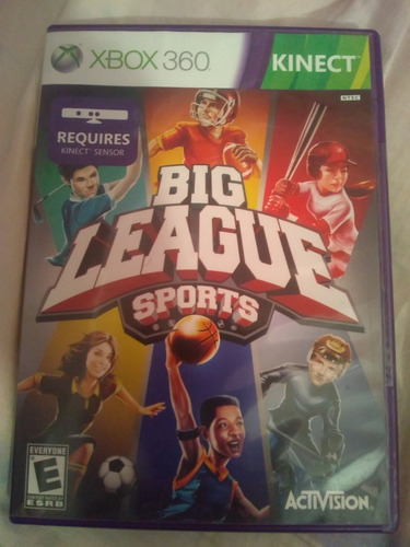 Juego De Xbox 360 Big League Sport Original.