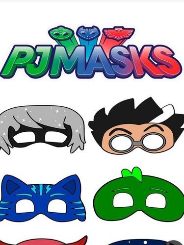 Kit Imprimible Pjmasks Super Heroe Avangers End Game Sofia
