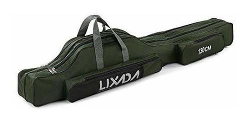 Lixada Carrete Portable Lona Para Caña Bolsa