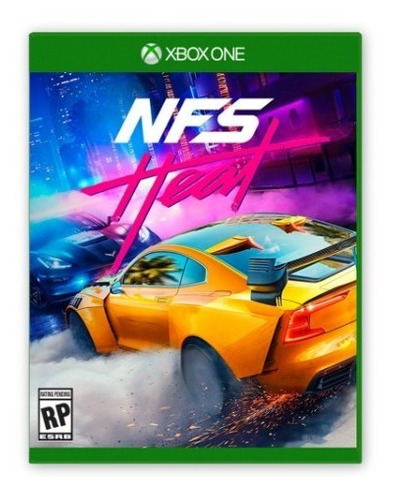 Need For Speed Heat Juego Para Xbox One Totalmente Original