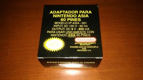 Adaptador De Corriente De Nintendo Asia Nuevo En Caja