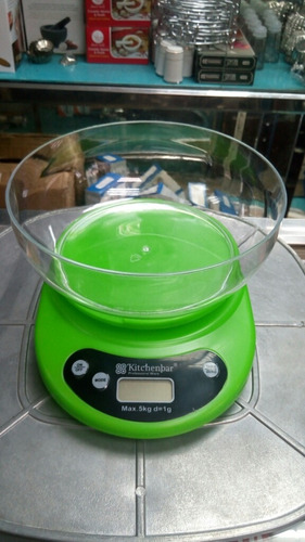 Balanza Peso Digital Kitchenbar 1gr Hasta 5 Kg
