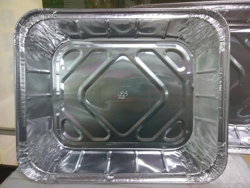 Bandejas De Aluminio Desechables  Con Tapa