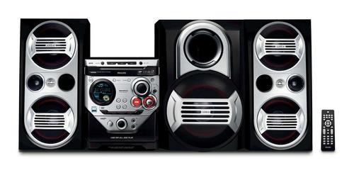 Equipo De Sonido Philips Con Mp3 Fwm583 Usado