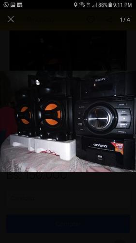 Equipo De Sonido Sony Genezi Puerto Usb Con Control