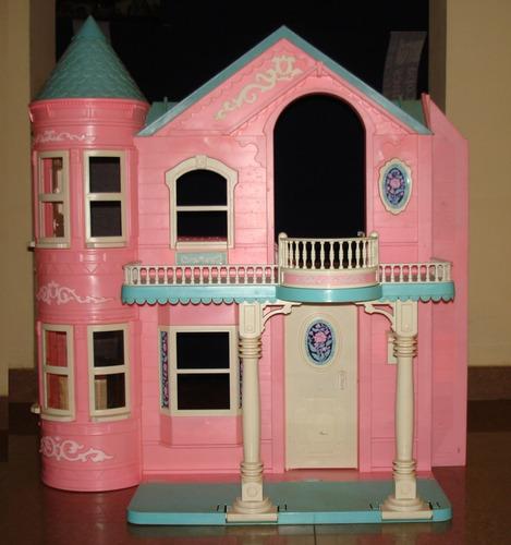 Mansión De La Barbie Casa De Muñecas Con Ascensor
