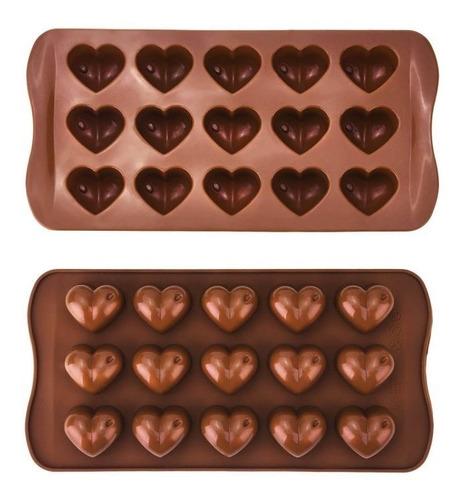 Moldes De Silicon Bombones De Chocolates Repostería Chef