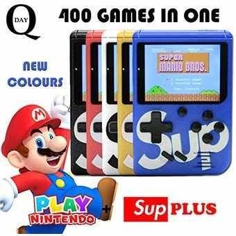 Nintendo Sup Portátil 400 Juegos