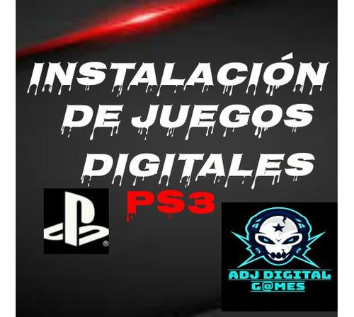 Pack De Juegos Digitales Ps3 Tienda Fisica!!