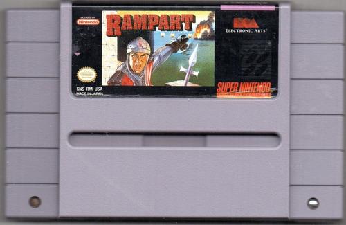Rampat. Super Nintendo Video Juego Original Usado Qq A8