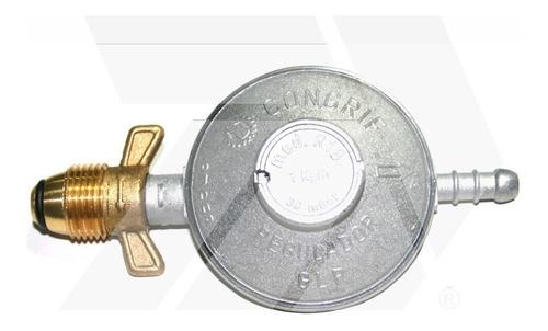 Regulador Para Gas Tipo Mariposa O Pol, Congrif, 18 Y 43 Kg
