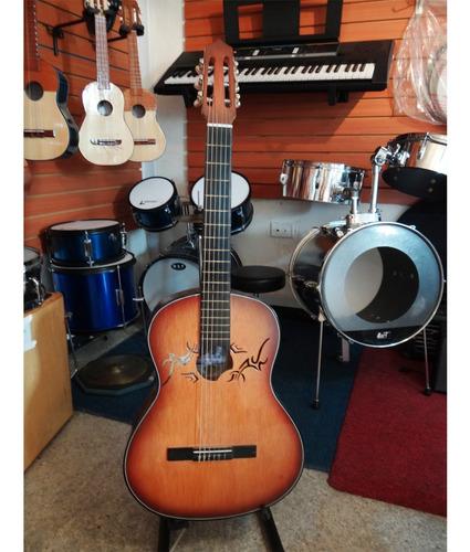 Guitarra Clasica Acustica Cuerdas De Nylon -datemusica-