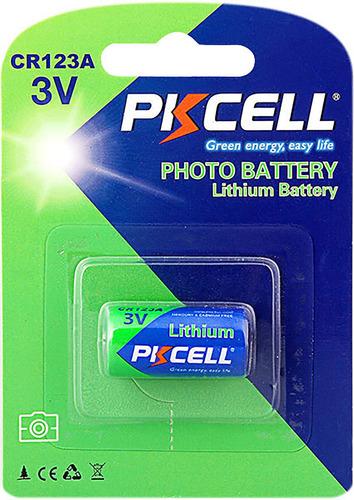 Pila Batería 123 Cr123 Cr123a  Cr De Litio Pkcell
