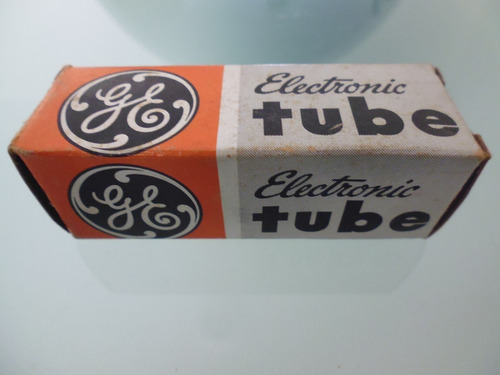 Válvula Electronica Tubo De Vacío Electrónico / Ge 12au7a