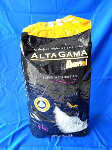 Arena Para Gatos Altagama Neutro 4kg Higiene Mascotas