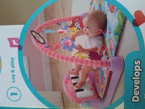 Baby Gym Gimnasio Fisher Price Piano Pataditas