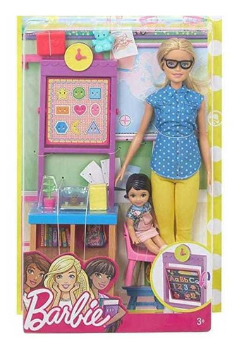 Barbie Fashionista. Profesora. Muñeca Niña Juguete