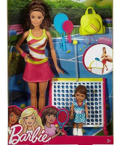 Barbie Profesora De Tenis Mattel