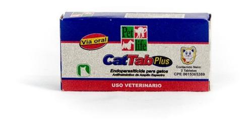 Cat Tab Plus 1 Tab Desparasitante Gatos Mascota