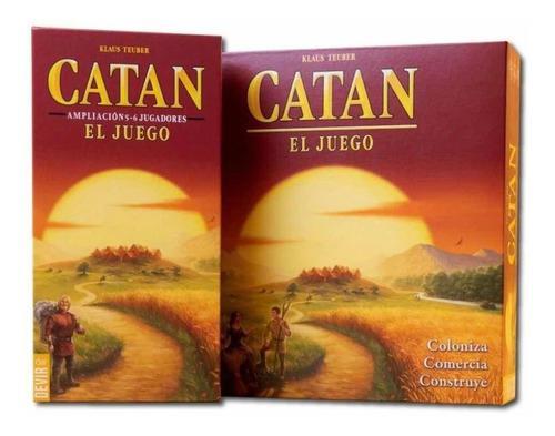Catan + Extensión 5y6to Jugador. Juego De Mesa