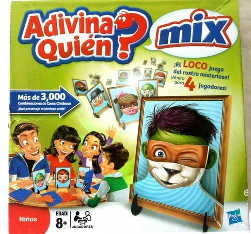 Juego De Mesa Adivina Quién Mix
