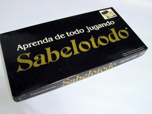 Juego De Mesa Sabelotodo Original