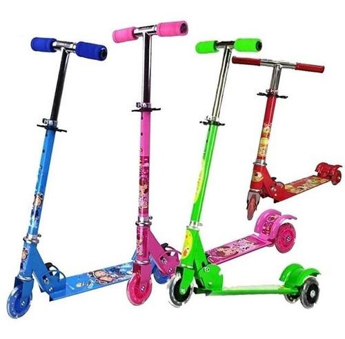 Monopatín Scooter De 3 Ruedas Para Niños Niñas Caracas