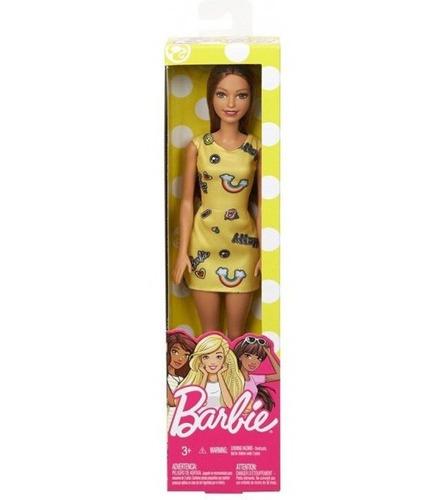 Muñeca Barbie Basica T Original Mattel Jueg Niña