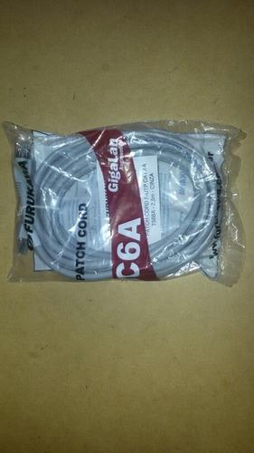 Cable De Red Patch Cord.f/upt Cat 6a-2.5 M Marca Furukawa