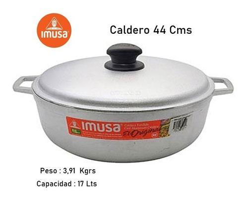 Caldero Imusa 44 Cms Con Tapa Aluminio