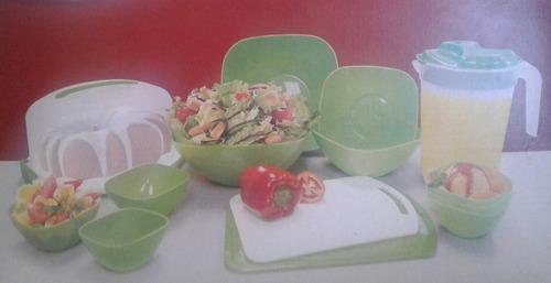 Combo De Envases De Cocina En Plastico Nuevos