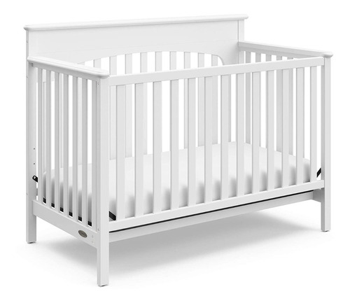 Convertible Cuna Cama 4 En 1 Color Blanco De Graco Lauren
