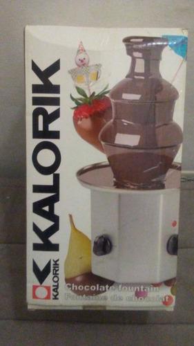 Fuente De Chocolate De 3 Niveles. **excelentes Condiciones**