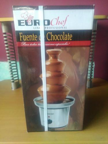 Fuente De Chocolate Euro Chef De 4 Niveles