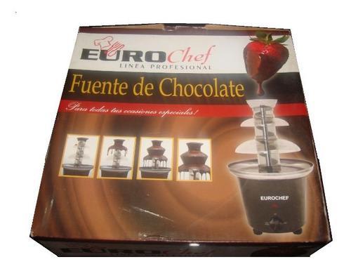 Fuente De Chocolate Euro Chef Tres (3) Niveles