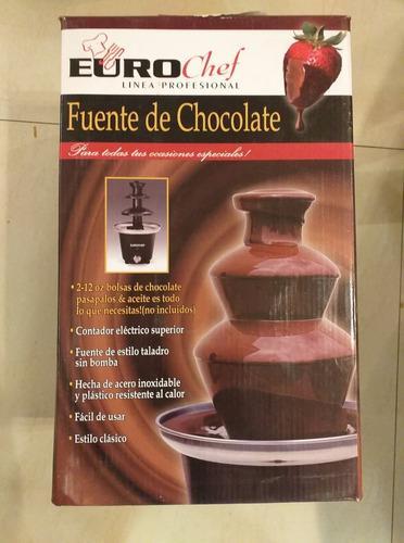 Fuente De Chocolate Eurochef 25 Norteños