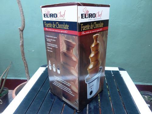 Fuente De Chocolate Eurochef Linea Profecional 4 Niveles