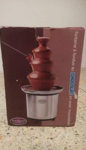 Fuente Para Chocolate Marca Nostalgia Electrics