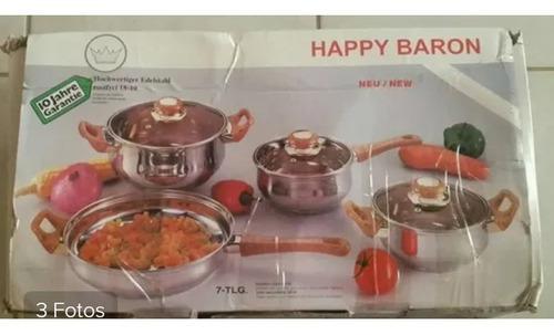 Juego De Ollas Happy Baron