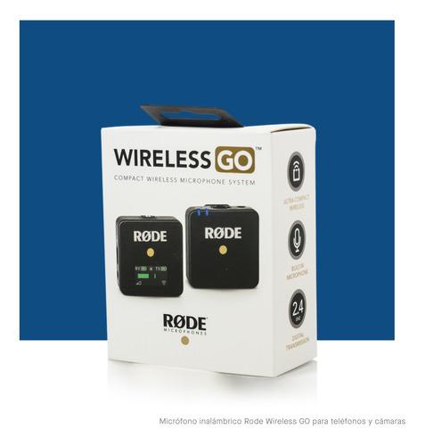 Microfono Rode Wireless Go Balita Inalambrica Camaras Telefo