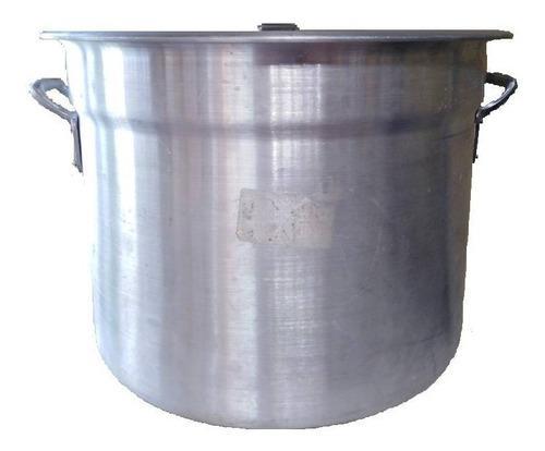 Olla Mondonguera De Aluminio. 30, 35, 45 Y 50 Lts