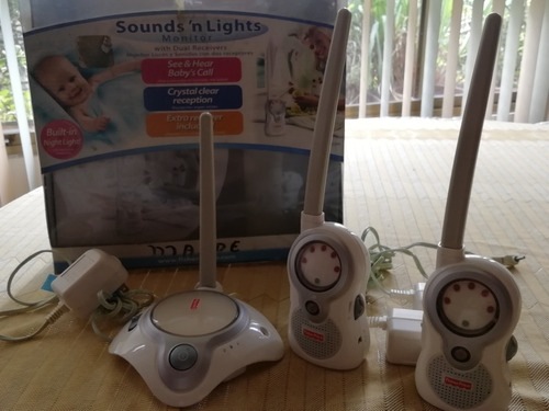 Radio Monitor Para Bebe Fisher Price