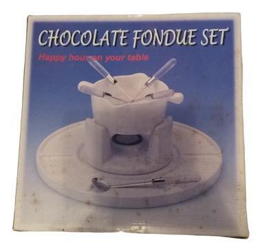 Set De Foundue Para Chocolate. Nuevo!!!