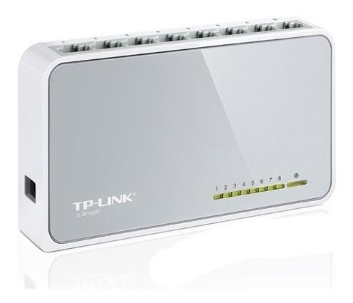Switch Tp-link Tl-sfd 8 Puertos  Red Rj45